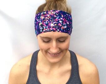 Fitness Headband - Workout Headband - Running Headband - Yoga Headband - Cosmos