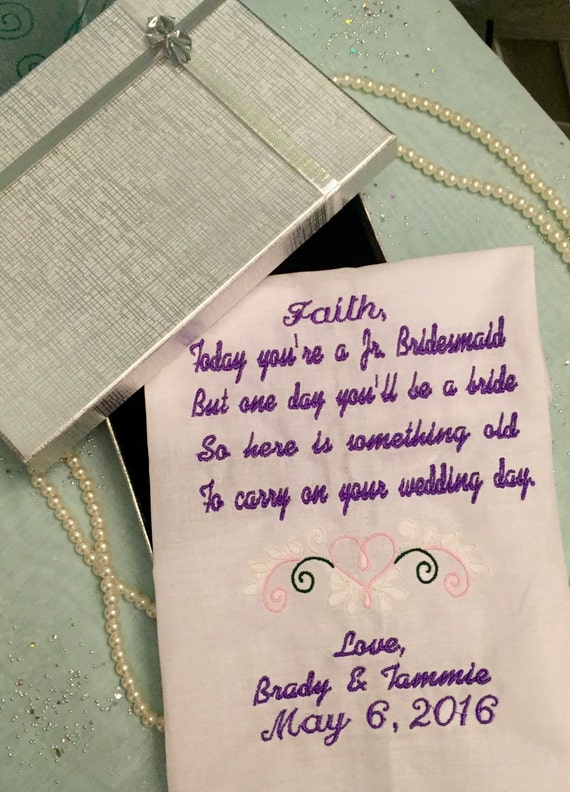 Wedding Gifts For Junior Bridesmaid : ... Gifts Guest Books Portraits & Frames Wedding Favors All Gifts