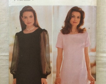 Butterick 5264 UNCUT New Misses Size 6, 8 and 10 Dress Pattern