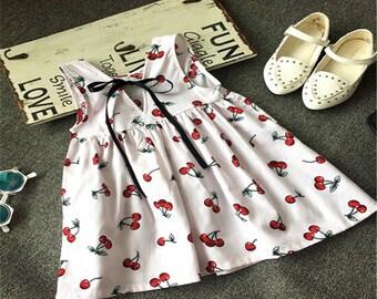 Summer dress Cherries