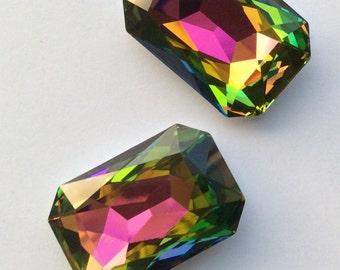 Swarovsi 4627  27x18.5  asstd - 2 pieces