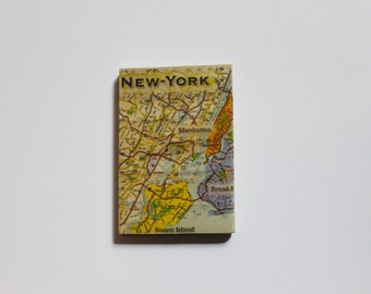 Wooden Map Magnets - Your favorite places on magnets!
