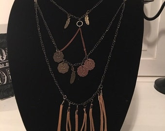 Coin Tier Necklace
