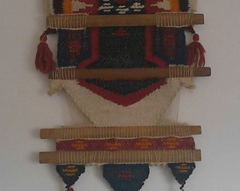 Vintage Ethnic tapestry wall decor 60,s