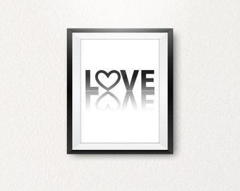 Typography, love typography, quote, inspiration