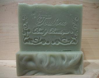 Green Tea Scented Handmade Soap w/Shea Butter Green Tea Garden