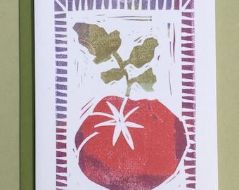 Tomato Note Card