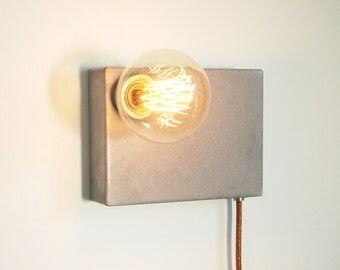 Concrete lamp BLock M