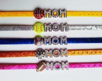 Mom Sports Team Bracelet