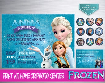 Fever Frozen Birthday Invitation, Frozen Invitation, Frozen Birthday, Frozen, Frozen Party, Frozen Invite, Disney Frozen
