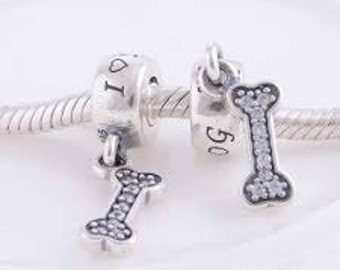 Authentic Pandora I LOVE MY DOG # 791263CZ