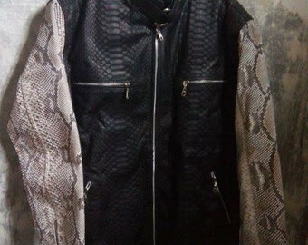 Python Skin Jacket FREE SHIPPING