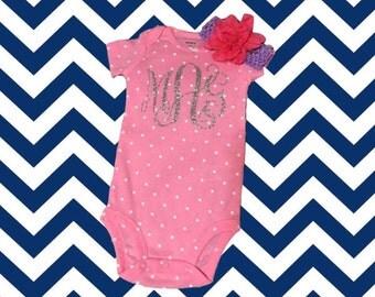 Monogram Baby Onesie