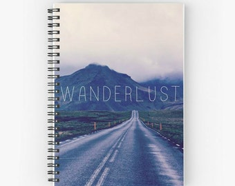 Wanderlust Travel Journal / Notebook / Diary Iceland Mountains