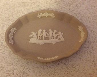 Beautiful vintage Wedgewood Trinket Dish - Dresser Dish - Pin Tray, Small Dish - Jewelry dish