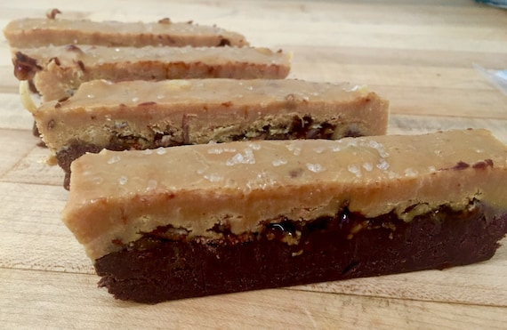Peanut Butter Chocolate Salted Caramel Bacon Fudge (Naturally Gluten ...