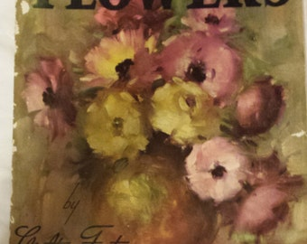 How to Draw and Paint Flowers by Walter Foster