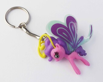My Little Pony Keychain Breezie and Sparkleponies Lilac Breezie,Mosely Orange, Sunny Breezie,Cloudia Breezie, Junebug brony gifts,pegasister
