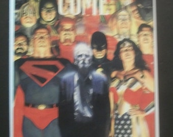1996 Kingdom Come #2 (1st Print) Superman Comes Out Of Retirement Graphic Novel TPB VF-NM  Vintage Comic Book - Alex Ross Cover Elseworlds