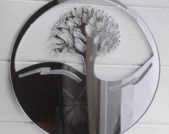 Tree of Life Circle Mirror