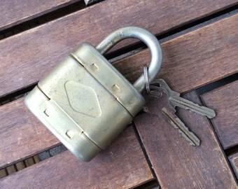 Padlock padlock made in GDR