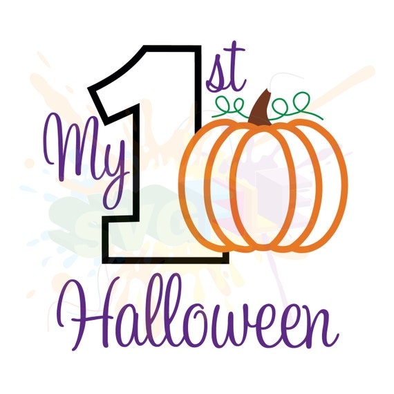 My First Halloween SVG Files for Cutting 1st Cricut Designs