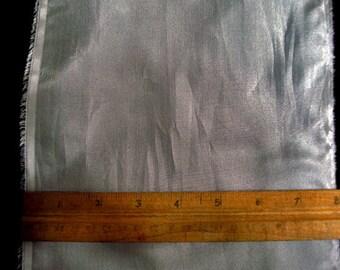 100% Silk Habotai - Medium Grey