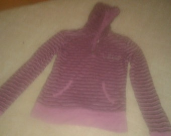 Women blouse with hood