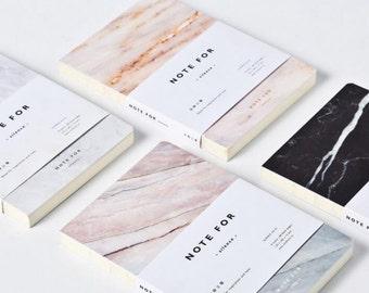 Minimalist Marble Notebook, Journal, Planner, Journal Insert, Planner Insert