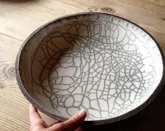 Raku Schale Schüssel Obstschale Keramik