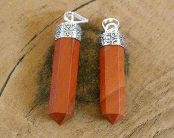 Kundalini Red Jasper Pendant