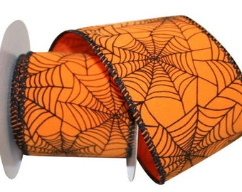 "2 1/2"" Spider Tangle Web - Wired Edge - 10 Yard Roll"