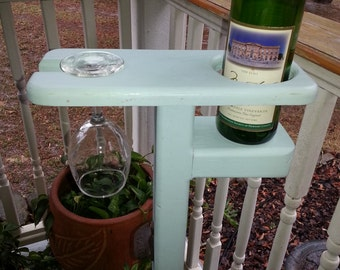 Outdoor Wine Glass Holder Stake