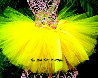 Bright Yellow Tutu, Baby Tutu, Toddler Tutu, Newborn Tutu, Birthday Tutu, Infant Tutu, Girls Tutu, First Birthday Tutu, Photo Prop Tutu