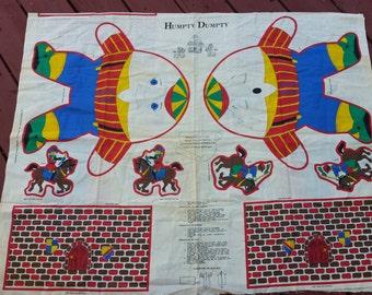 Humpty Dumpty Pillow fabric pattern