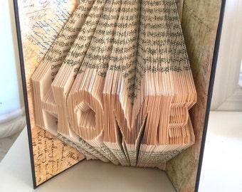 Folded Book Art - Home