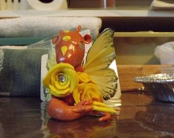 Rose Dragon (orange)