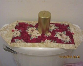 Toilet Tank Topper, Toilet Tank Runner, Mini-Entry Hall Runner, Mini-Table Runner, Mug Rug, Trivet, Coaster, Candle Mat