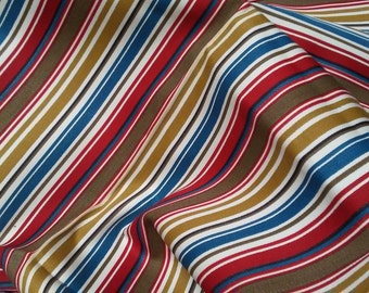 "STRIPE UPHOLSTERY Fabric,2ydx36""wide,Vintage"