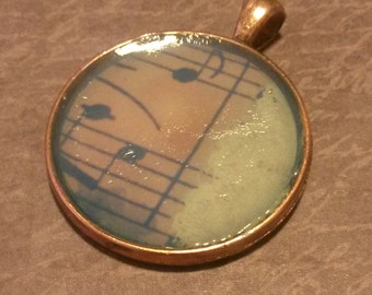 Music and Lace Pendant