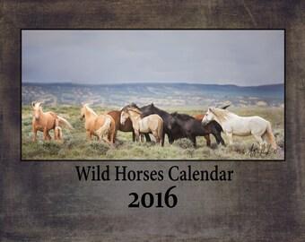 Wild Horses Calendar 2016