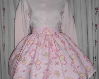 pink, cute, sweett,Japan,kawaii, Lolita, skirt.
