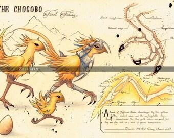 Final Fantasy Art Print - Final Fantasy