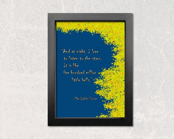 Items Similar To The Little Prince Quote Inspirational: Items Similar To Little Prince, Inspirational Quote, Quote