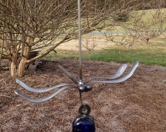 Hanging Dragonfly, yard art, garden decor