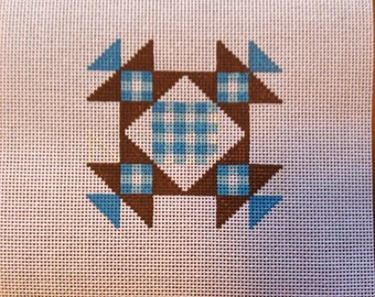 Quilt Square for needlepoint