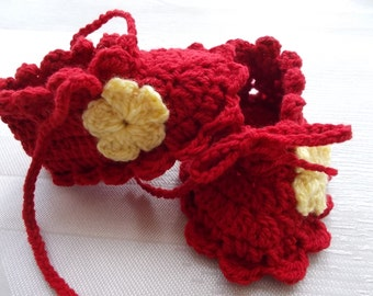 Baby Shoes, Baby Booties, Newborn booties, handmade baby shoes, crochet  baby shoes