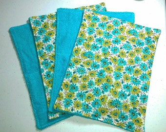 Unpaper Towels, Cleaning Cloths Daisies, Reusable Towels, Paperless Paper Towels, Kitchen Towels, Cloth Napkins, Cleaning Supplies