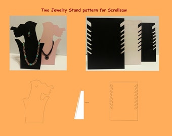 Two Jewelry Stand Patterns