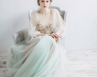 Wedding dress Filippa, fairy wedding dress, vintage style wedding dresses, wedding gowns, bride dresses, beach wedding